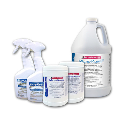 Micro-Kleen 3 Intro Kit Incl. 3.8L Jug, 2 Ea Sprayer & Wipes